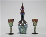 Group of Three Art Glass Pieces