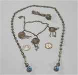 Three Pieces of Antique Turkish Jewelry