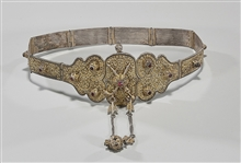 Antique Turkish Ottoman Filigree Belt