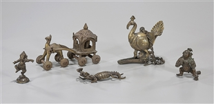 Group of Five Various Metalworks
