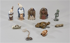 Group of Ten Various Objects