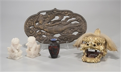 Five Various Chinese Objects