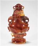 Agate Covered Vase