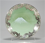 Japanese Silver Mounted Plate