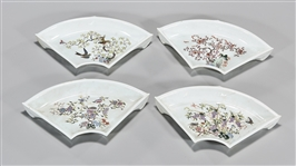 Group of Four Chinese Enameled Porcelain Dishes