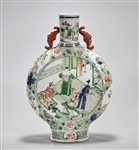 Chinese Wucai Porcelain Moonflask
