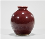 Chinese Oxblood Porcelain Vase
