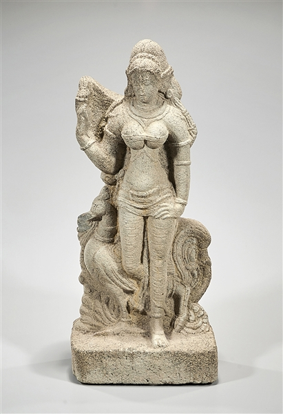 Indian Stone Hindu Figure