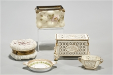 Group of Decorative Porcelains