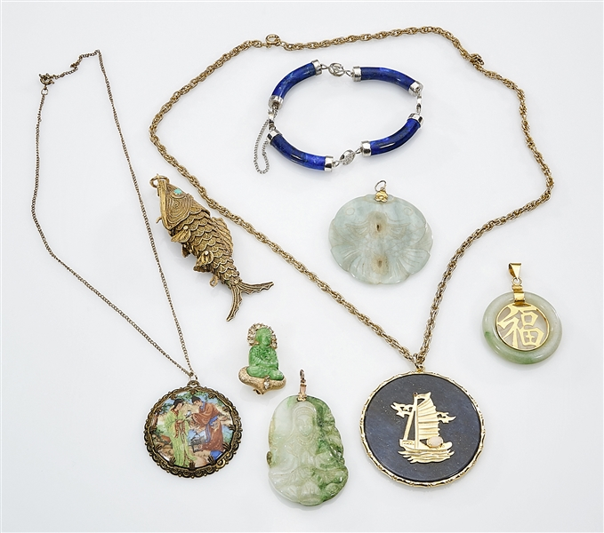 Large Group of Chinese Jewelry