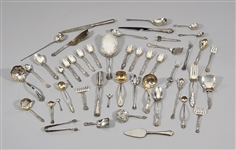 Collection of Various Sterling Flatware Pieces
