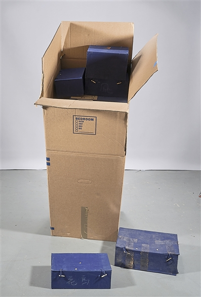 Group of Fitted Boxes