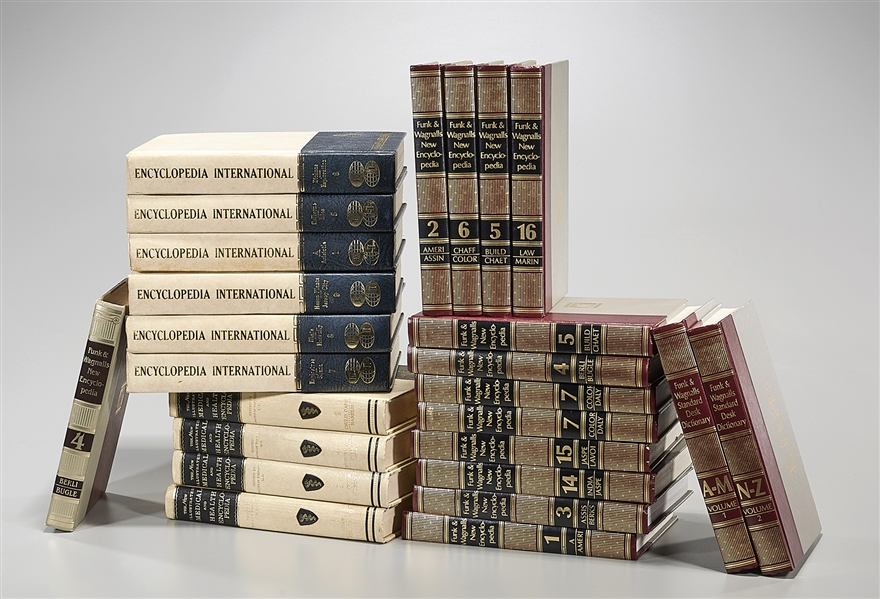 Group of Various Encyclopedic Books
