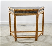 Chinese Painted Wood Console Table