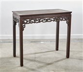 Chinese Hard Wood Short Altar Table