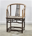 Chinese Hard Wood Scholars Chair