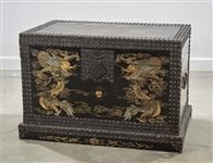 Chinese Painted Wood Chest