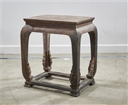 Chinese Hard Wood Side Table