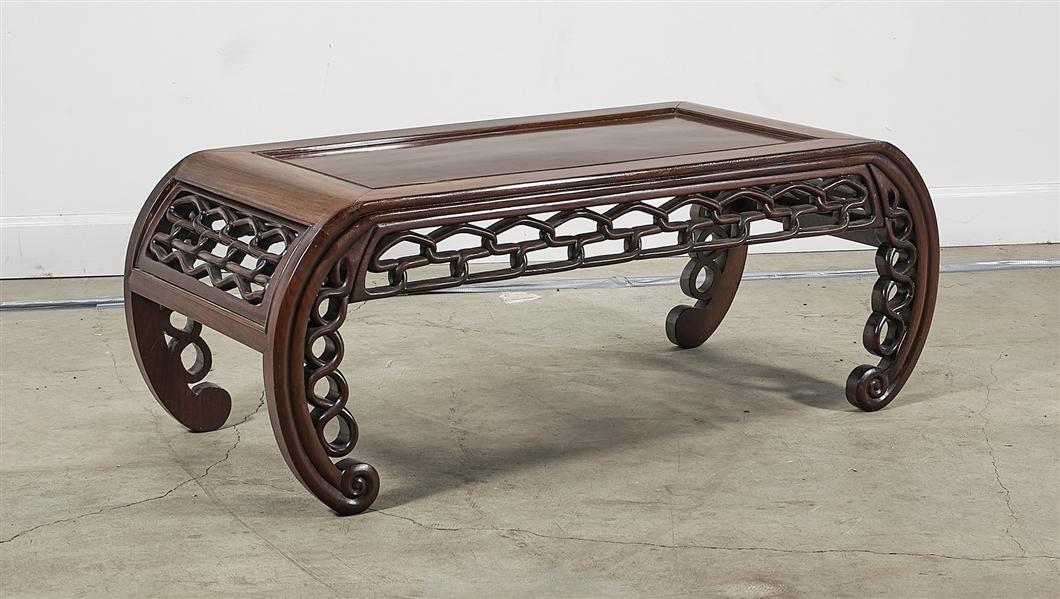 Chinese Hard Wood Low Table