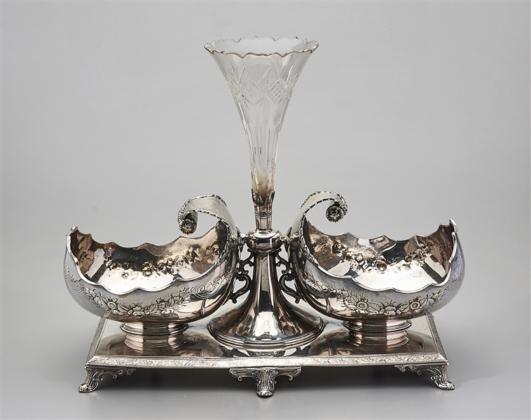 James Dixon & Sons Silver Plate Epergne