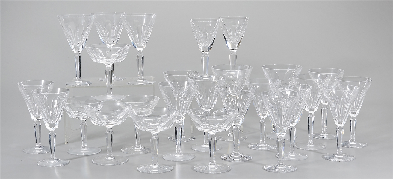 Four Groups of Waterford Crystal Glasses