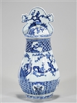 Chinese Blue and White Porcelain Wall Vase