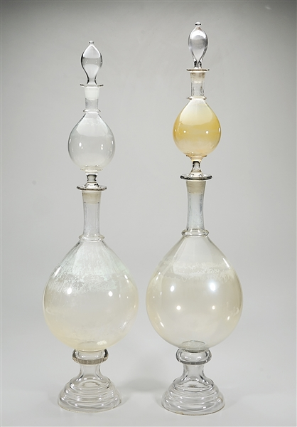 Two Old or Antique Glass Scientific Instruments