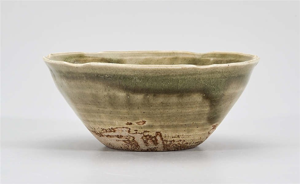 Chinese Song-Style Green Glazed Bowl