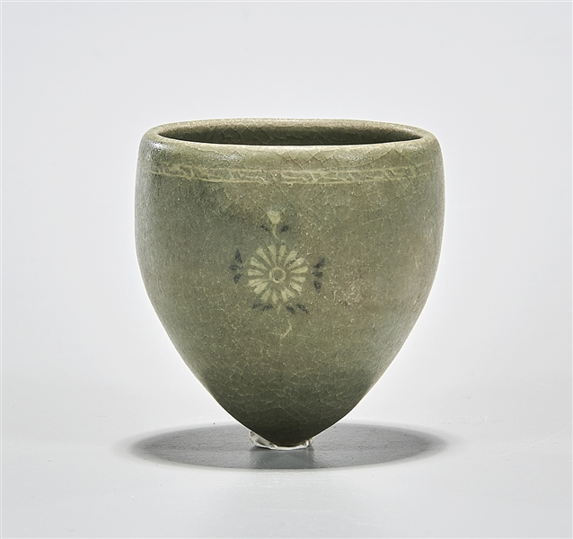 Korean Brown Glazed Cup