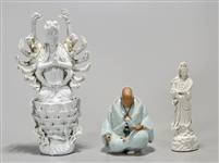 Group of Three Chinese and Japanese Ceramics