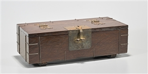 Korean Wood Covered Box