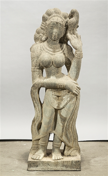 Southeast Asian Stone Hindu Figure