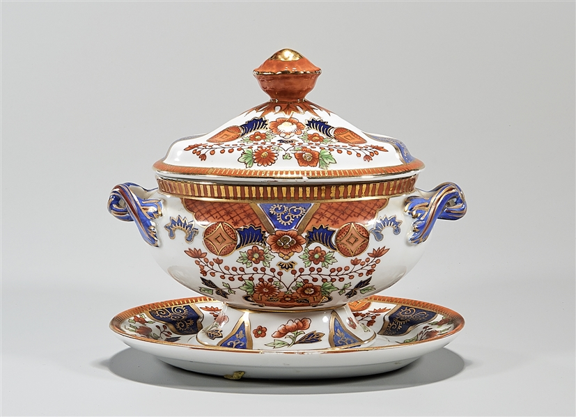 Two Continental Porcelains