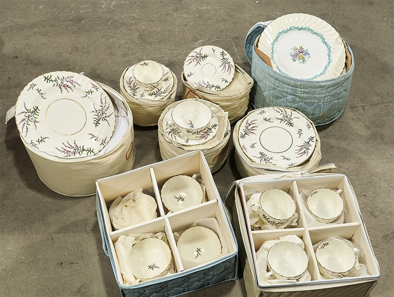 Group of Royal Worcester and Ardmore Porcelains