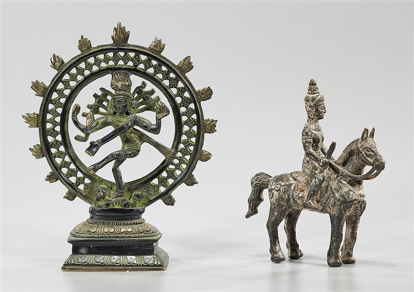 Two Southeast Asian Bronze Figures