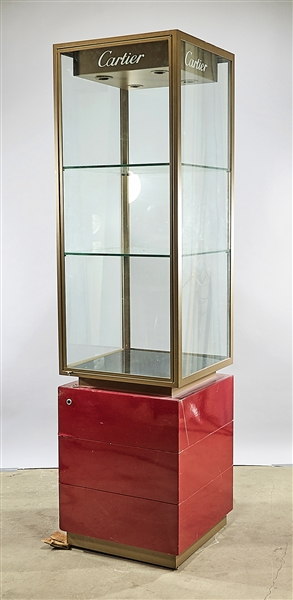 Cartier Display Case