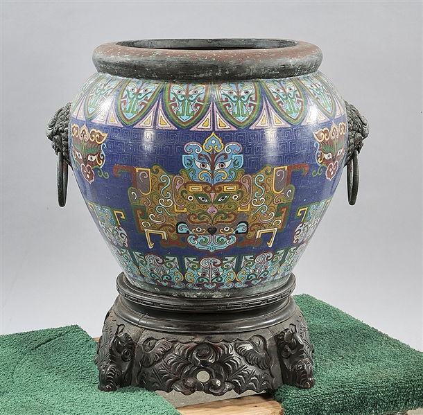 Chinese Cloisonne Jardiniere
