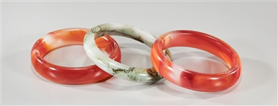 Group of Three Chinese Bangles