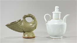 Two Chinese Ceramic Vessels