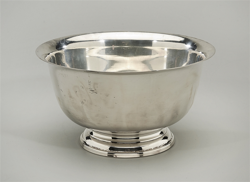 Paul Revere Hunt Sterling Silver Bowl