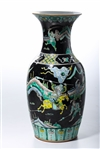 Chinese Enameled Porcelain Vase