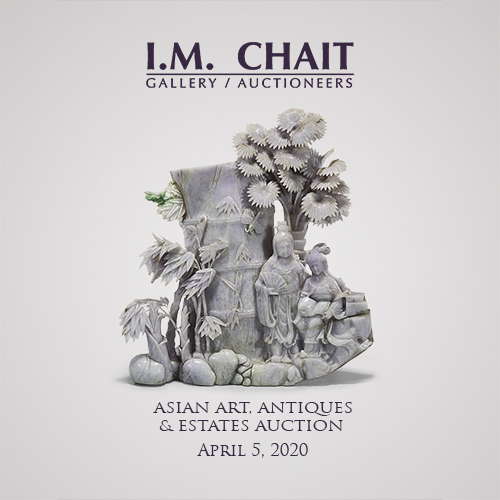 Asian Art & Antiques Auction-ONLINE ONLY- 4-05-2020